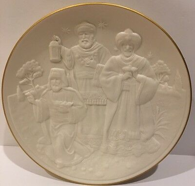 Lenox  1994 Nativity Vignettes 'The Wise Men' Plate Holidays