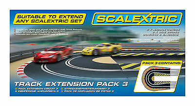 Scalextric Track Extension Pack 3 - C8512 - BNIB