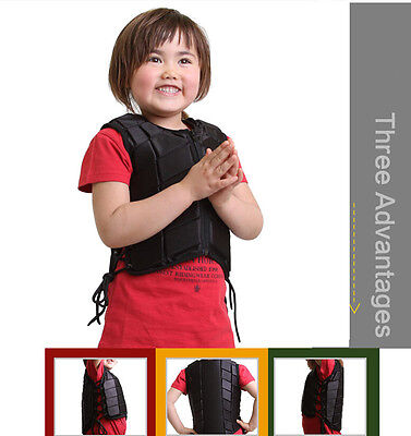 Horse Riding Equestrian Body Protector Safety Eventer Vest Protective Kid Size