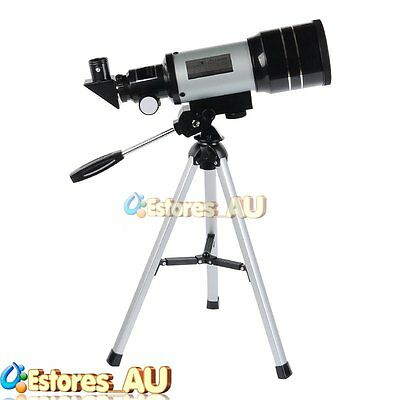 【AU】300x70mm 150x Zoom Monocular Astronomical Telescope Space Spotting Scope