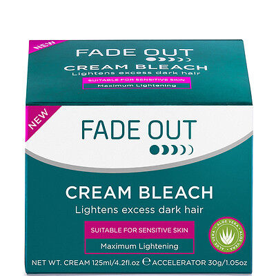 Cream Beach For Face By Fade Out Cream Bleach For Sensitive Skin # 30Ml
