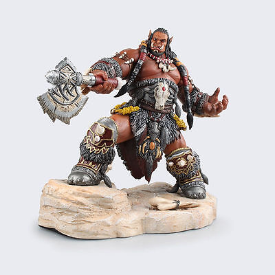 """WOW WORLD of WARCRAFT STATUE DUROTAN LORDS of WAR 8.7"""" ACTION FIGURES MODEL TOY"""