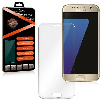 Samsung Galaxy S7 Panzerglas Schutzglas Curved Full Screen Panzerfolie Glasfolie