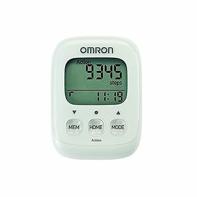 Omron Walking Style IV Step Counter 3D Sensor White