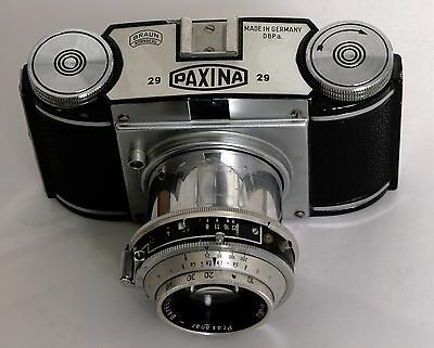 Braun Paxina 29 Film Camera (MADE IN GERMANY)