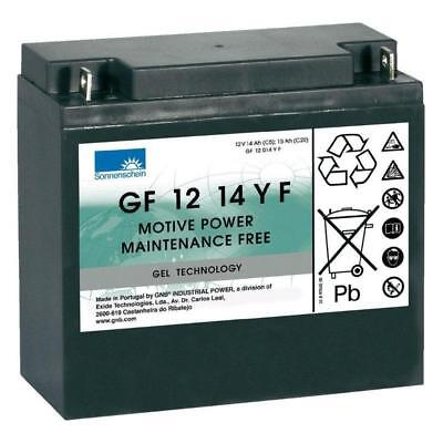 15Ah Gel Mobility Scooter Battery - Sonnenschein GF 12 14 Y F