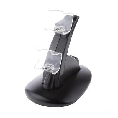 Dock Station Charger Dual USB veloce ricarica per PS4 controller