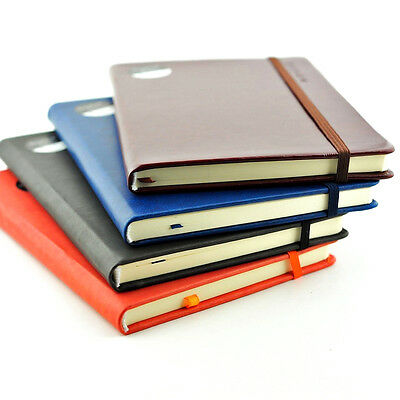 A4/A5/A6 Premium Soft Touch Notebook Notepad 80gsm Ruled Page Colours Hardback