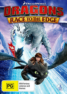 Dragons: Race to the Edge  - DVD - NEW Region 4