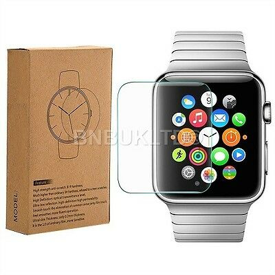 3 X 100% genuine Tempered Glass Screen Protector for Apple i Watch 42mm