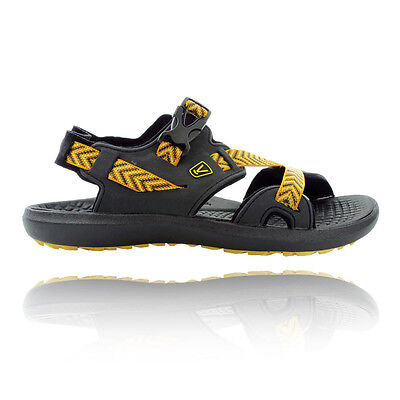Keen Maupin Mens Black Yellow Summer Shoes Hiking Walking Sports Sandals