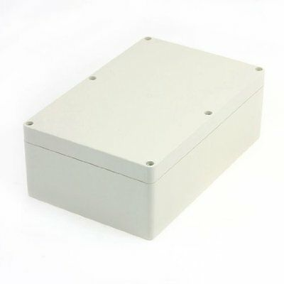 uxcell 230mmx150mmx85mm Waterproof Plastic Enclosure Case Power Junction Box New