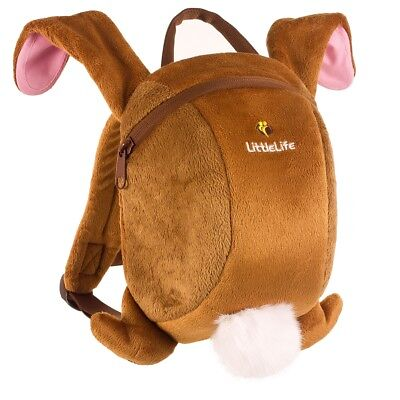 Littlelife Toddler Daysack Rucksack with Rein - Bunny Rabbit