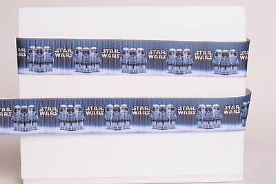 "By The Yard USA Seller Star Wars inspired 7//8/""  Grosgrain Ribbon"