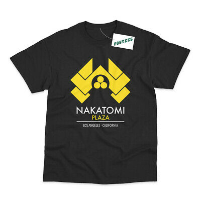 Nakatomi Plaza Inspired by Die Hard Printed T-Shirt