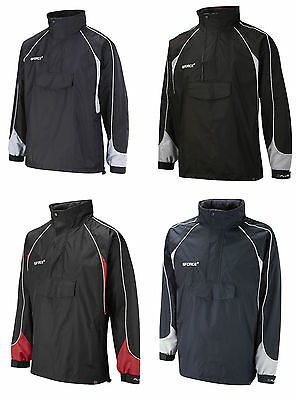NEW GFORCE Smock Jacket Front Pouch Pocket Concealed Hood Various Colours