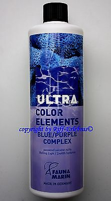 Ultra Color Elements Blue / Purple Fauna Marin 250ml Spurenelemente 55,80€/L