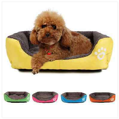Size Dog Cat Pet Puppy Kennels Beds Mat Houses Doghouse Warm Soft Pad Blanket