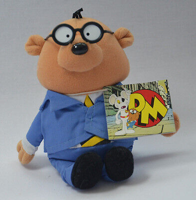 "Penfold Danger Mouse Tv Series 7"" Plush  Soft Toy Hamster Bnwt New"