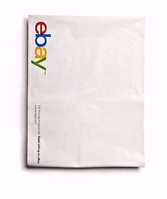 "50 pcs Poly Mailer Seal Envelopes Ebay Brand Bags 14.5"" x 18.5"" 12 x 15"" 10 x 13"