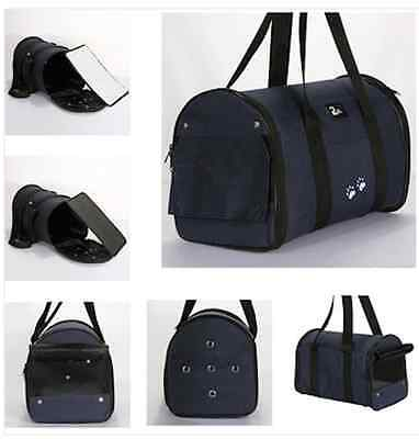 Comfortable Oxford Pet Dog Cat Travel Carrier Tote Bag M Size
