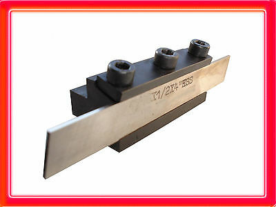 "T Type Lathe Parting Tool Clamp Cut Off Tools ½"" Blade 10Mm Shank"