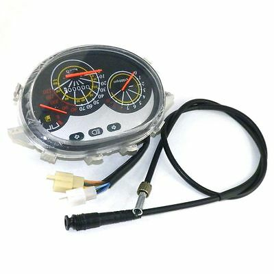 Instrument Gauge w/ Speedometer Cable Chinese Scooter Moped ty1