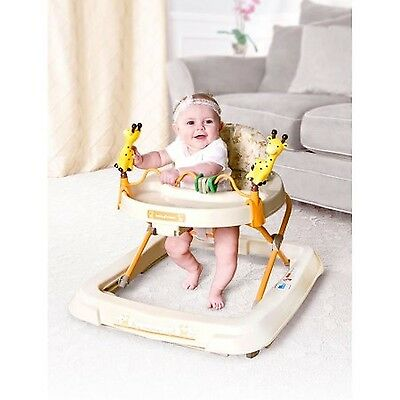 Baby Trend Baby Activity Walker with Wheels Toys Child Sit Upright New