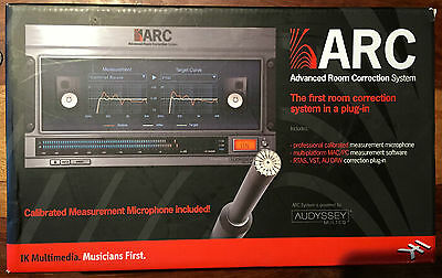 IK Multimedia ARC Advanced Room Correction System - Brand New!  Sealed Package!