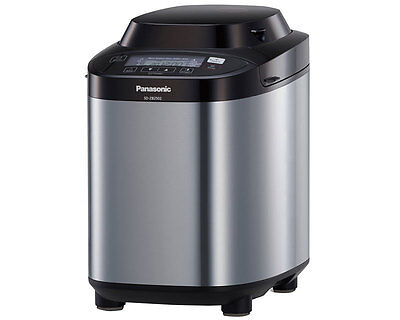 Panasonic SDZB2502BXC Breadmaker in Silver With Nut Dispenser