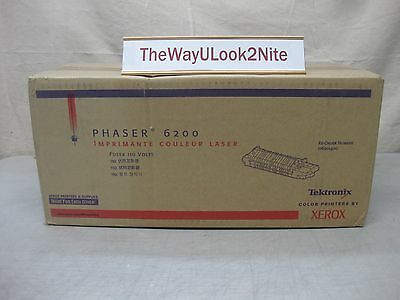 Xerox Phaser 6200 Fuser 110 Volt New 016201400 Genuine Factory Sealed Box