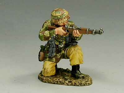 King and (&) Country  FJ012 - Kneeling Firing Rifle - Retired