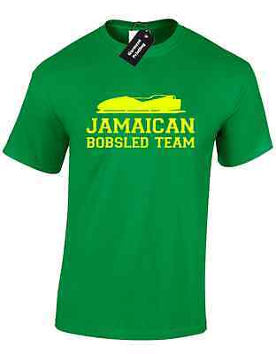 Jamaican Bobsled Team Mens T Shirt Tee Funny Cool Runnings Design New Quality