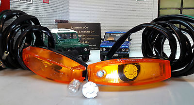 Land Rover Defender  1988 90 110 LED Wing Repeater Indicator Lights 589143 x2