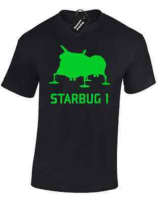 Starbug 1 Red Dwarf Mens T Shirt Funny Smeghead Cat Kryten Retro Tv Comedy