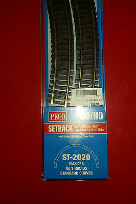 Peco Universal Train Track System OO/HO