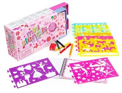 Meadow Kids - Mini Box of Stencils for Girls - 6 different Themes