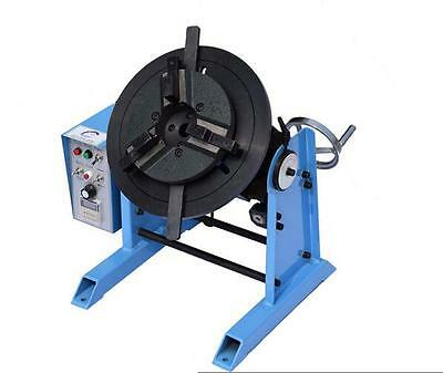 New 1~15RPM 50KG Welding Positioner Turntable Timing with 200mm Chuck 220V