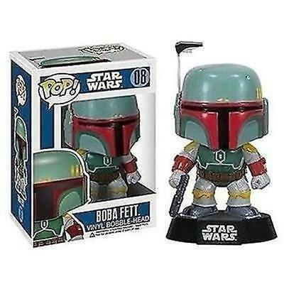Funko - Star Wars Boba Fett Pop Vinyl Bobble Head New In Box