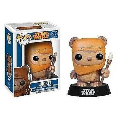 Funko - Star Wars Ewok Wicket Pop! Vinyl Bobble Head New In Box