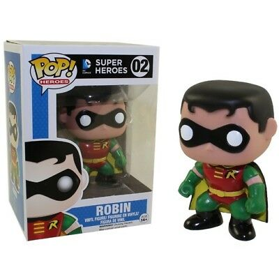 Funko - Batman Robin Pop! Heroes Vinyl Figure #02 New In Box
