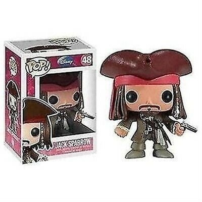 Funko - Pirates of the Caribbean Jack Sparrow Pop! Vinyl Figure #48 New In Box