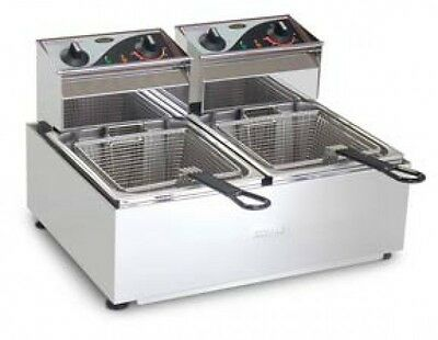 Roband F25 Double Pan Counter Top Fryers