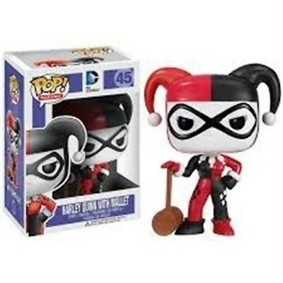 Funko - POP Heroes : Harley Quinn w/ Mallet Vinyl New In Box