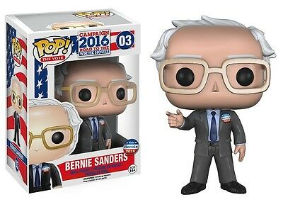 Funko - POP The Vote: Bernie Sanders New In Box