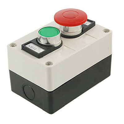 Red Mushroom Head Momentary Switch Push Button Station L3