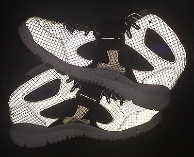 ab9cb8805ce0 SAMPLE PAIR! Nike Huarache Free Shield Megatron Sz 10 Oregon PE Yeezy Super  Bowl