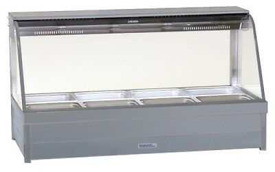Roband Hot Food Bar Square Glass - S22RD