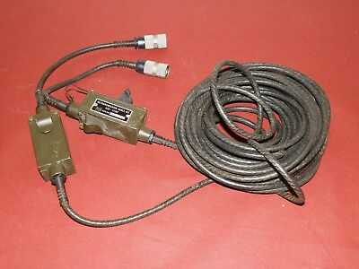 PRC-77 & PRC-25 Retransmission Cable Kit  RTC-77/GY MK-456/GRC