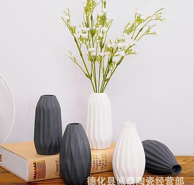 Home Garden Ceramic Pottery Planter Flower Pot  Green Plant Office Mini Vase